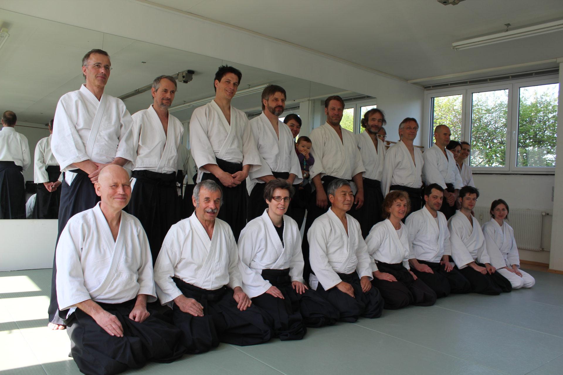 Seminar mit Doshu Yoshigasaki April 2014