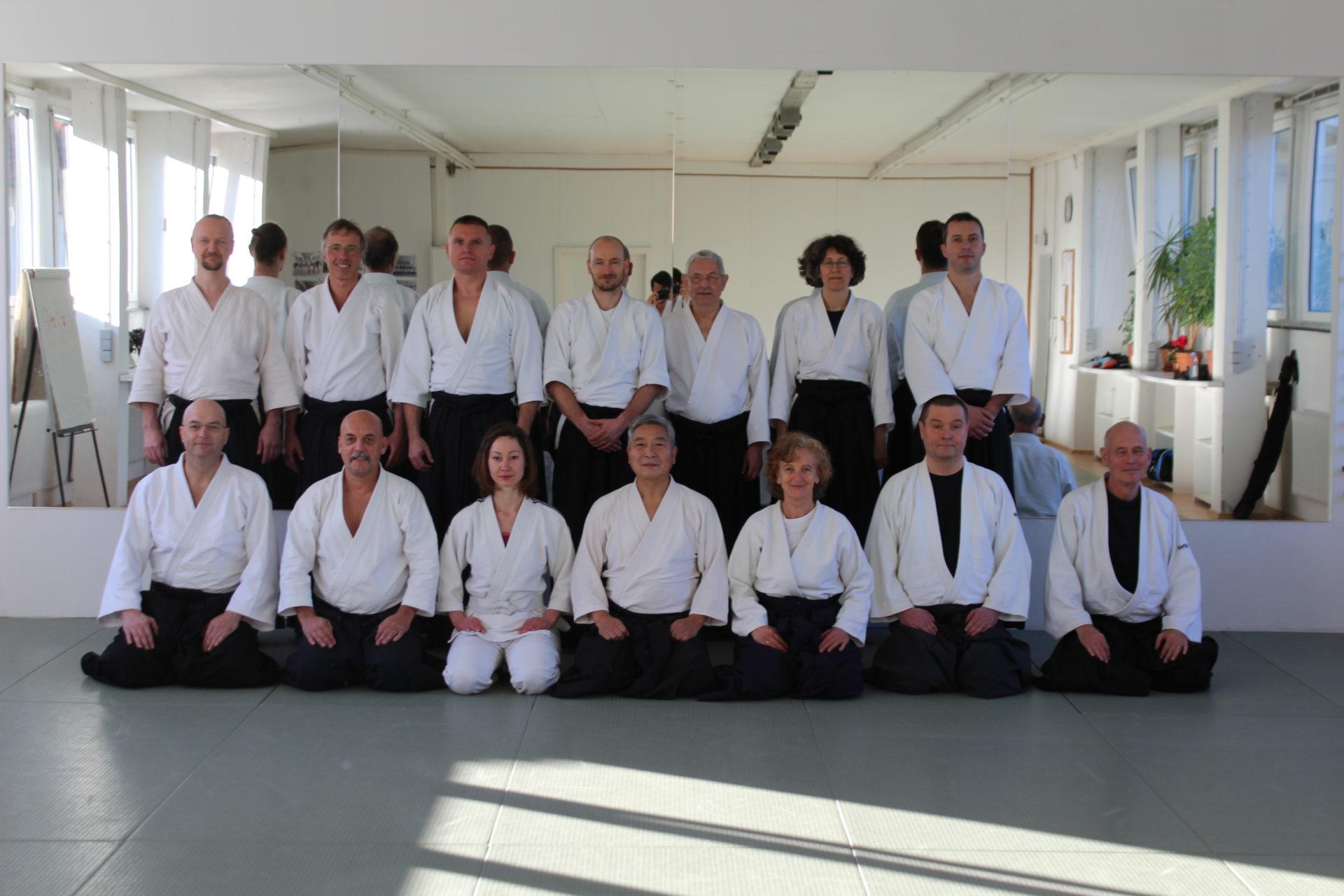 Seminar mit Doshu Yoshigasaki Dezember 2016